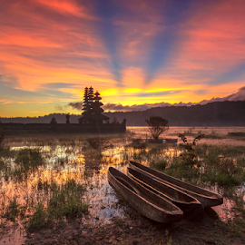 Gubug temple by Kori Wardhana - Landscapes Sunsets & Sunrises