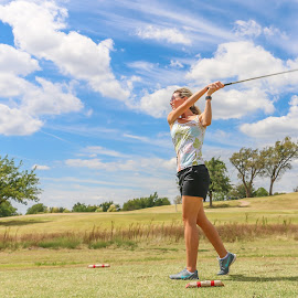 Teeing Off by Kathy Suttles - Sports & Fitness Golf