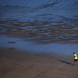 Morocco  by Jani Novak - Sports & Fitness Lacrosse ( morocco run man )