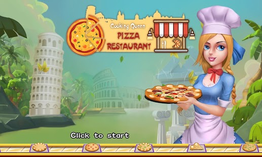 Cooking Queen:Pizza Restaurant - screenshot