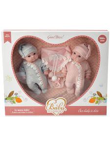 """Пупс серии """"Anna de Wailly"""", близнецы, розовые"""