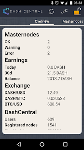 DashCentral - screenshot