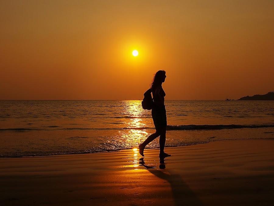 Palolem by Björn Olsson - Landscapes Sunsets & Sunrises ( palolem, goa, sunset, sea, beach, inida )