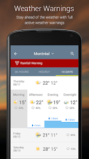 App The Weather Network APK for Windows Phone