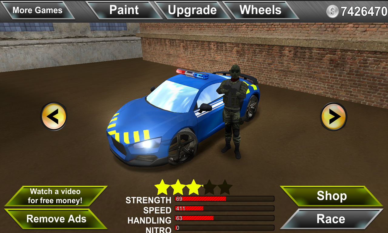 Police Agent vs Mafia Driver Screenshot 2