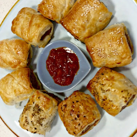 Sausage Rolls -Must be time for school holidays