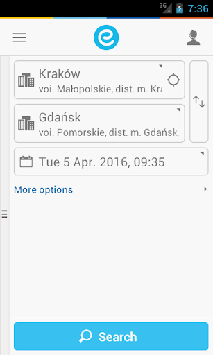 e-podroznik.pl screenshot 1