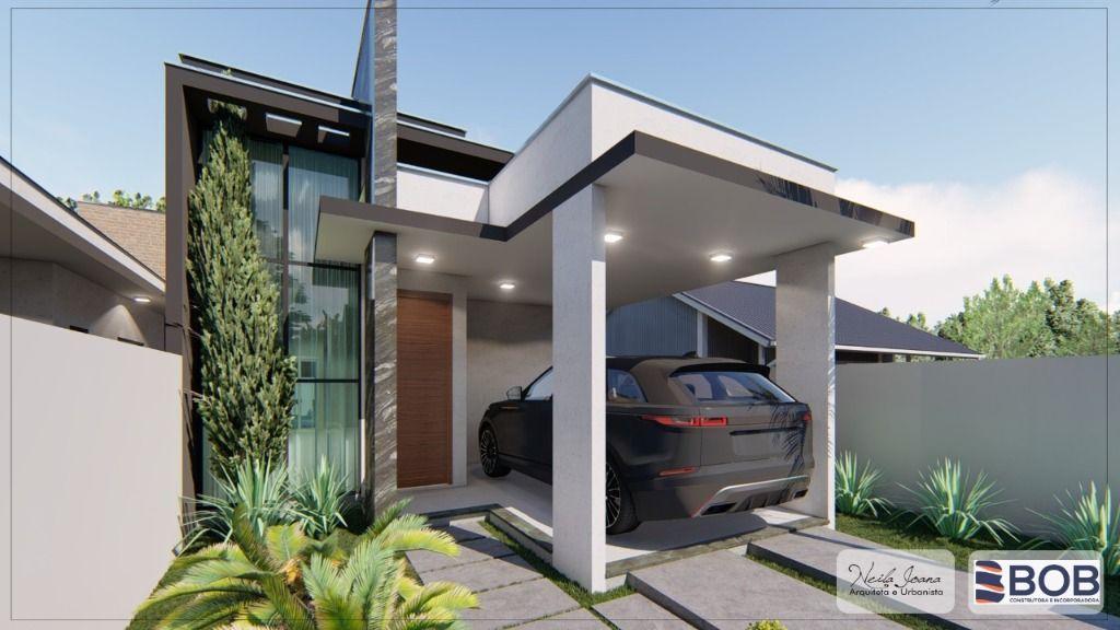 Casa com 3 dormitórios à venda, 89 m² por R$ 360.000 - Loteamento Dom Geraldo - Tijucas/SC