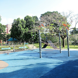 Rope-based Play Equipment by Dennis Ng - City,  Street & Park  City Parks