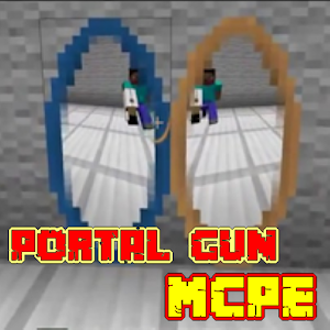 Portal Gun Mod MCPE app for android