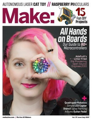 Ladyada and Adafruit featured in the latest issue of Make: