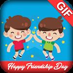 Happy Friendship Day GIF 2017 Icon