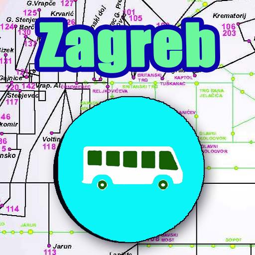 Android aplikacija Zagreb Bus Map Offline na Android Srbija