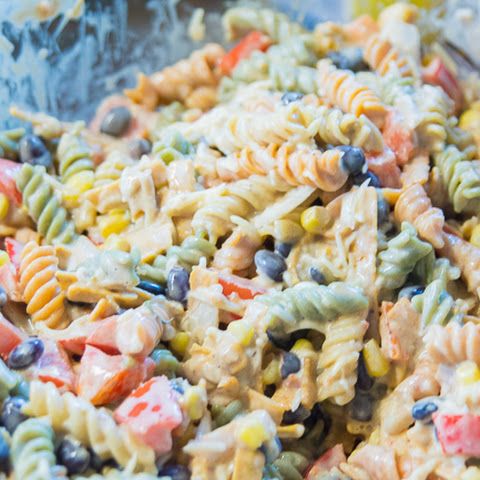 Tex Mex Pasta Salad Recipe (and Giveaway)