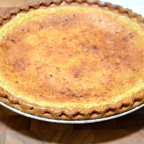 Momma's Egg Custard Pie