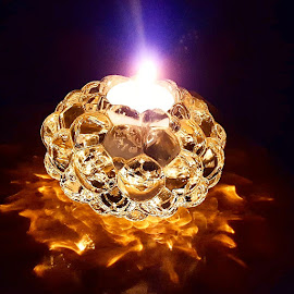 Fire and Light by Michelle Johnston - Instagram & Mobile Android ( #candle, #light, #burn, #flame, #reflecting, #beautiful, #glow )