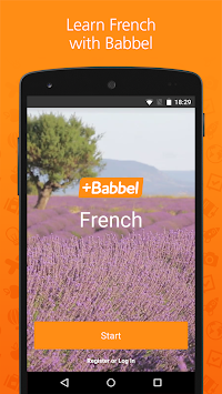 Learn French With Babbel APK screenshot thumbnail 1
