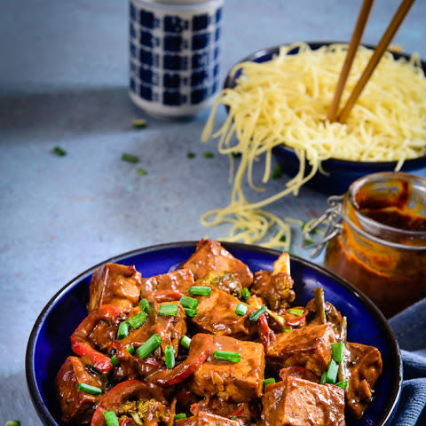 Asian Tofu and Vegetable Stir Fry