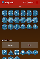 Screenshot of Easy Dice