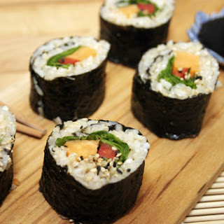 Sweet Potato Sushi with Brown Rice