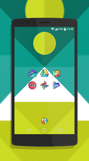 Griddy Icon Pack - screenshot