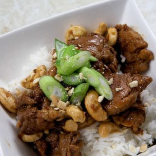 Cashew and Pork Stir Fry
