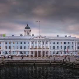 Helsingin Kaupungintalo. by Ole Steffensen - Buildings & Architecture Public & Historical ( city hall, harbor, helsingin kaupungintalo, helsinki, finland, architecture )