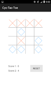 Cyc-Tac-Toe - screenshot