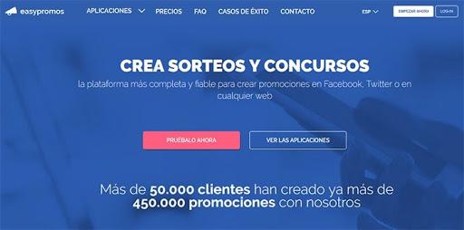 Herramienta para concursos Facebook Conquista internet