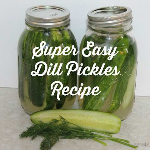 Super Easy Dill Pickles