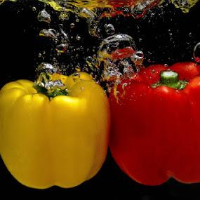 Paprika #5 by Dimas N - Nature Up Close Gardens & Produce