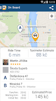 Screenshot of Liftago Taxi