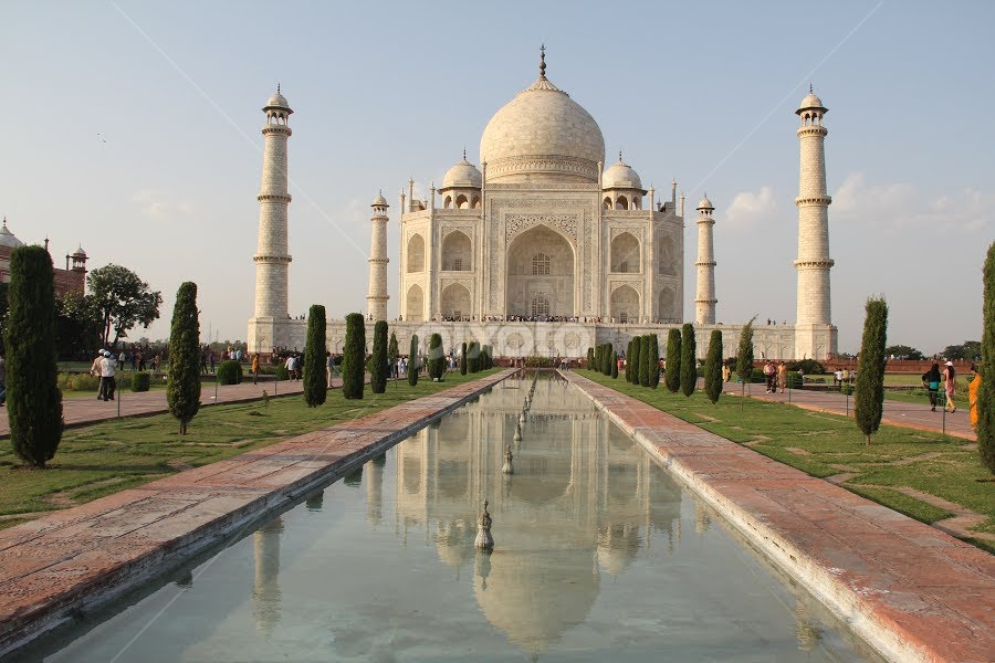 TajMahal by SENTHILKUMAR KALIAPPAN - Buildings & Architecture Statues & Monuments ( monuments, building, tajmahal, india, travel )