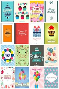 Birthday Greeting Cards - screenshot