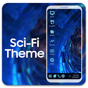 Sci fi theme for computer launcher APK Cracked Download