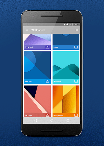 android news: chromatin ui icon pack v2.3 apk