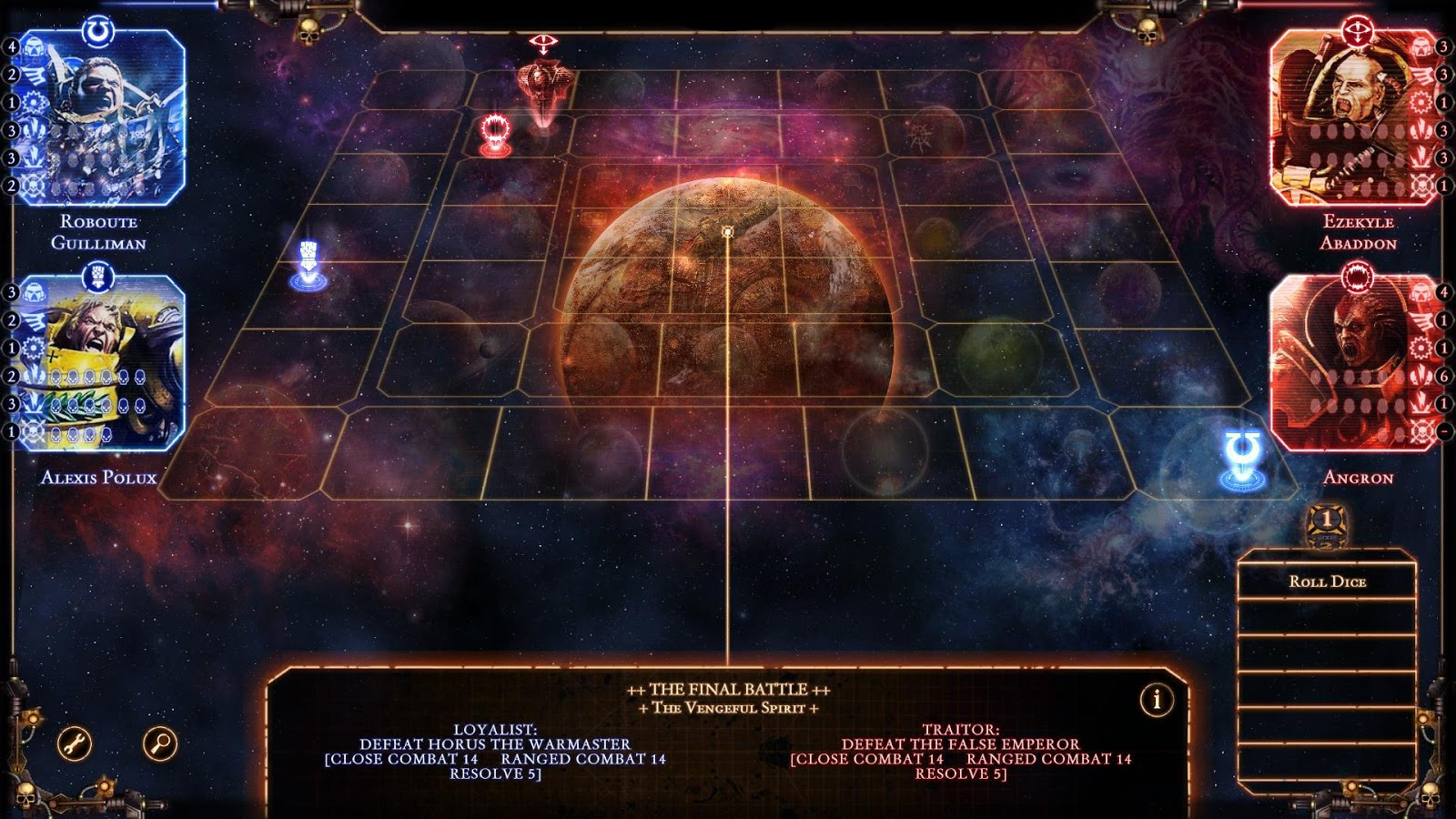 Talisman: The Horus Heresy Screenshot 0