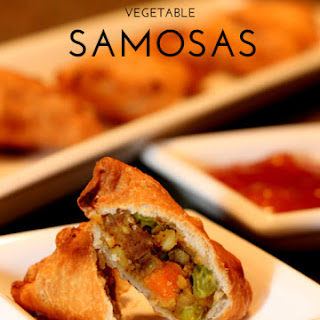 Homemade Vegetable Samosas