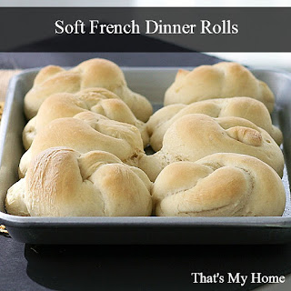 Soft French Dinner Rolls