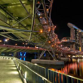 Triple Helix by Donny Koerniawan - Buildings & Architecture Bridges & Suspended Structures