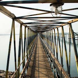 Depth by Pradipta Chakraborty - Buildings & Architecture Bridges & Suspended Structures