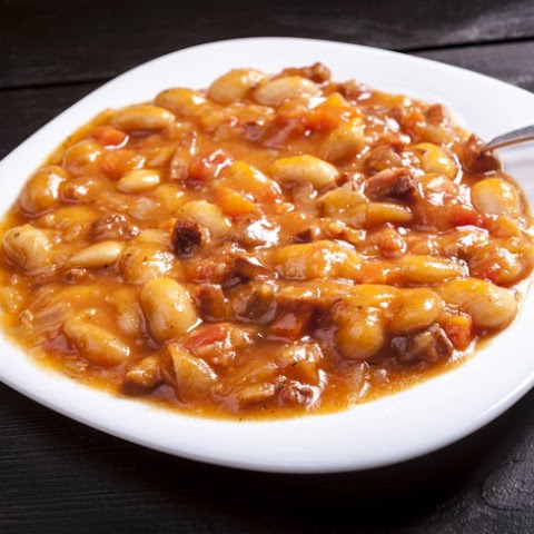 Slow Cooker Barbecued Lima Beans