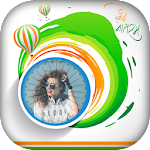 Independence Day Photo Frame 2017 Icon