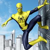 Flying Spider Hero Game 2017: City Battle