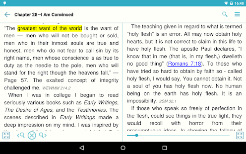 egw writings windows 8 Egw writings for windows 8 enables you to read and search the complete  published writings of ellen g white online the egw writings app is available in .