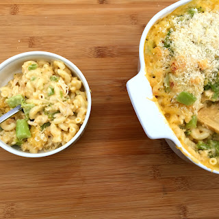Chicken Broccoli Macaroni and Cheese