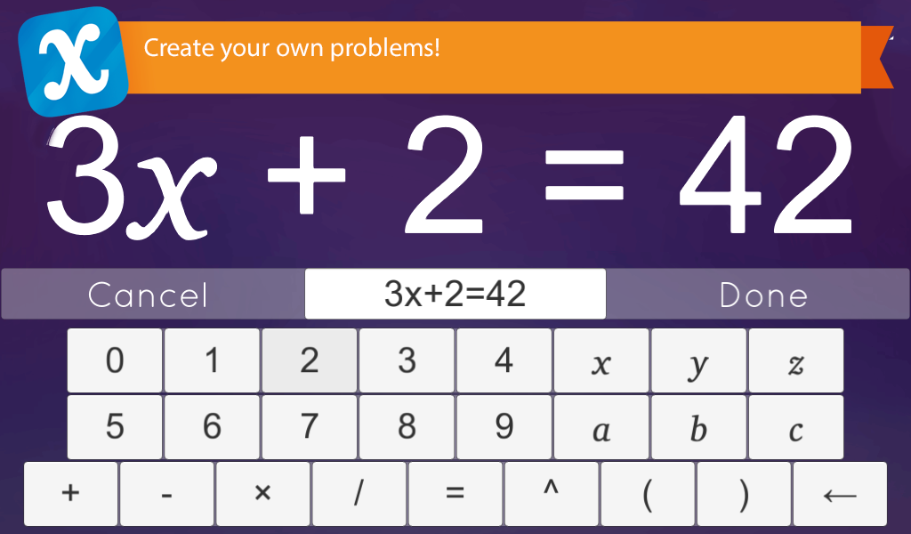 Algebra Touch Screenshot 3