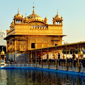 Golden temple by Jatin Malhotra - Buildings & Architecture Places of Worship ( temple, harmandar, amritsar, golden, sahib )