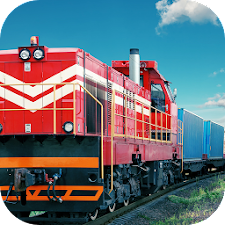 Cargo Transporter Train Sim 3D