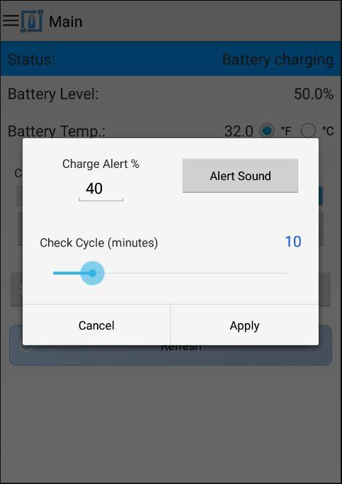 Battery Alert 40-80 Pro Screenshot 13